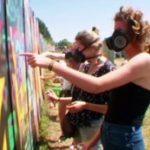 Activite EVJF Cours de Graffiti Anniversaire Team Building Les Feetardes