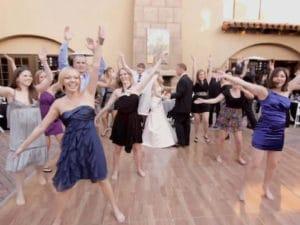 flash mob mariage paris evjf les feetardes