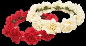 Couronne de fleurs EVJF anniversaire shooting pas cher Les Feetardes