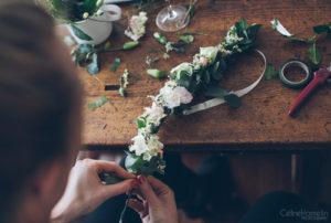 atelier floral couronnes fleurs EVJF Les Feetardes
